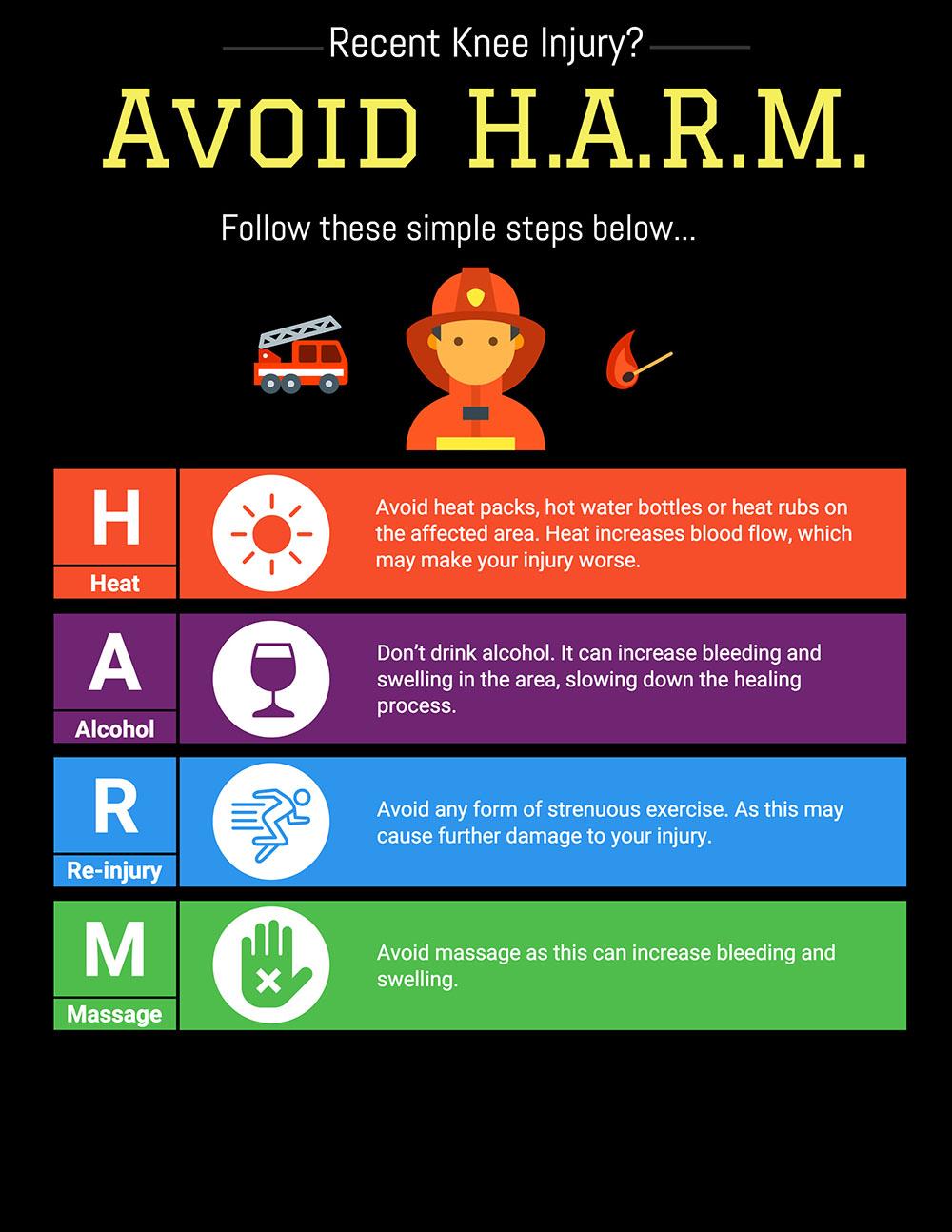Harm poster